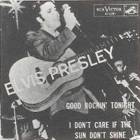 Cover Elvis Presley - I Don't Care If The Sun Don't Shine