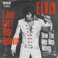 Cover Elvis Presley - I Just Can't Help Believin'