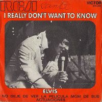 Cover Elvis Presley - I Really Don't Want To Know