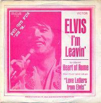 Cover Elvis Presley - I'm Leavin'