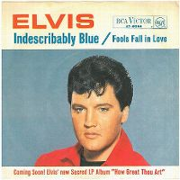 Cover Elvis Presley - Indescribably Blue
