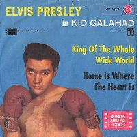 Cover Elvis Presley - King Of The Whole Wide World