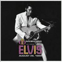 Cover Elvis Presley - Live At The International Hotel, Las Vegas, August 26, 1969