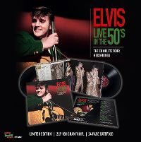 Cover Elvis Presley - Live In The 50's - The Complete Tour Recordings