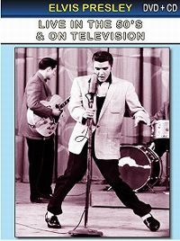 Cover Elvis Presley - Live In The 50's & On Television
