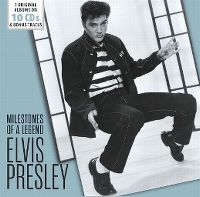 Cover Elvis Presley - Milestones Of A Legend