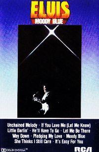 Cover Elvis Presley - Moody Blue