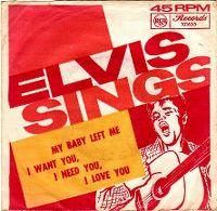 Cover Elvis Presley - My Baby Left Me