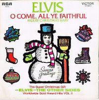 Cover Elvis Presley - O Come, All Ye Faithful