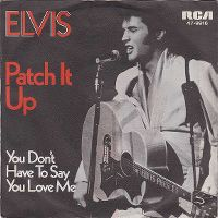 Cover Elvis Presley - Patch It Up