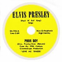 Cover Elvis Presley - Poor Boy