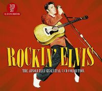 Cover Elvis Presley - Rockin' Elvis - The Absolutely Essential 3 CD Collection