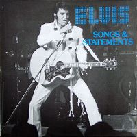 Cover Elvis Presley - Songs & Statements