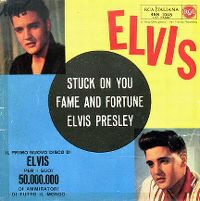 Cover Elvis Presley - Stuck On You