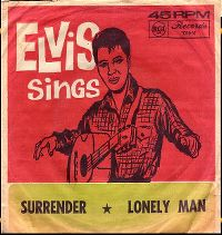 Cover Elvis Presley - Surrender