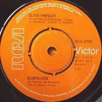 Cover Elvis Presley - Suspicion