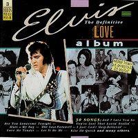 Cover Elvis Presley - The Definitive Love Album
