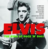 Cover Elvis Presley - The King Of Rock 'N' Roll