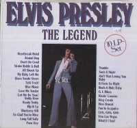 Cover Elvis Presley - The Legend