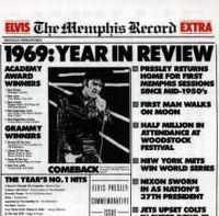 Cover Elvis Presley - The Memphis Record
