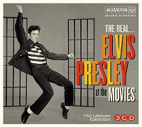 Cover Elvis Presley - The Real... Elvis Presley At The Movies