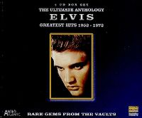 Cover Elvis Presley - The Ultimate Anthology - Greatest Hits 1953-1973