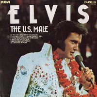 Cover Elvis Presley - The U.S. Male