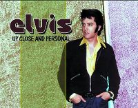 Cover Elvis Presley - Up Close And Personal