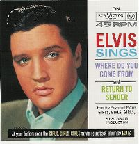 Cover Elvis Presley - Where Do You Come From