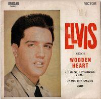 Cover Elvis Presley - Wooden Heart (muss i denn...)