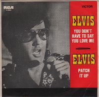 Cover Elvis Presley - You Don't Have To Say You Love Me