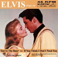 Cover Elvis Presley with Ann-Margret - You're The Boss