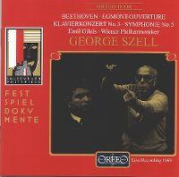 Cover Emil Gilels / Wiener Philharmoniker / George Szell - Salzburger Festspiele