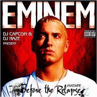 Cover Eminem - Mixtape - Before The Relapse