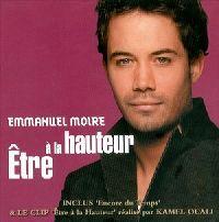 Cover Emmanuel Moire - Être à la hauteur