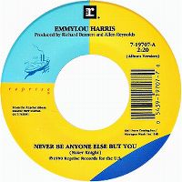 Cover Emmylou Harris - Never Be Anyone Else But You