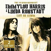 Cover Emmylou Harris & Linda Ronstadt - Live On KSWM