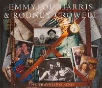 Cover Emmylou Harris & Rodney Crowell - The Traveling Kind