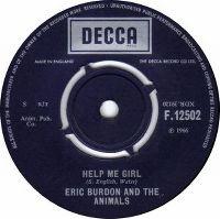 Cover Eric Burdon & The Animals - Help Me Girl