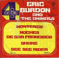 Cover Eric Burdon & The Animals - Monterey