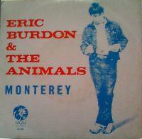 Cover Eric Burdon & The Animals - Monterey