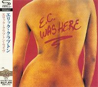 Cover Eric Clapton - E.C. Was Here