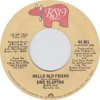 Cover Eric Clapton - Hello Old Friend