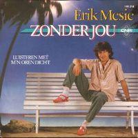 Cover Erik Mesie - Zonder jou