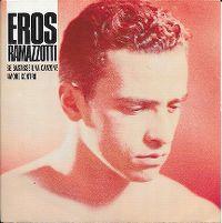 Cover Eros Ramazzotti - Se bastasse una canzone