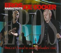 Cover Eros Ramazzotti con Joe Cocker - That's All I Need To Know - Difendero' (Live)