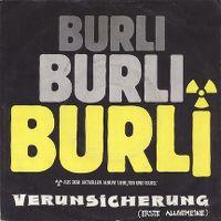 Cover Erste Allgemeine Verunsicherung - Burli