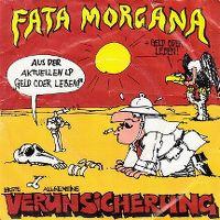 Cover Erste Allgemeine Verunsicherung - Fata Morgana