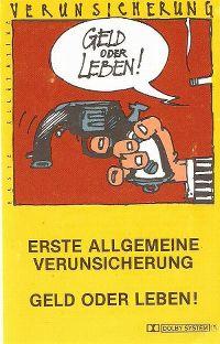 Cover Erste Allgemeine Verunsicherung - Geld oder Leben!