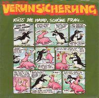 Cover Erste Allgemeine Verunsicherung - Küss' die Hand, schöne Frau